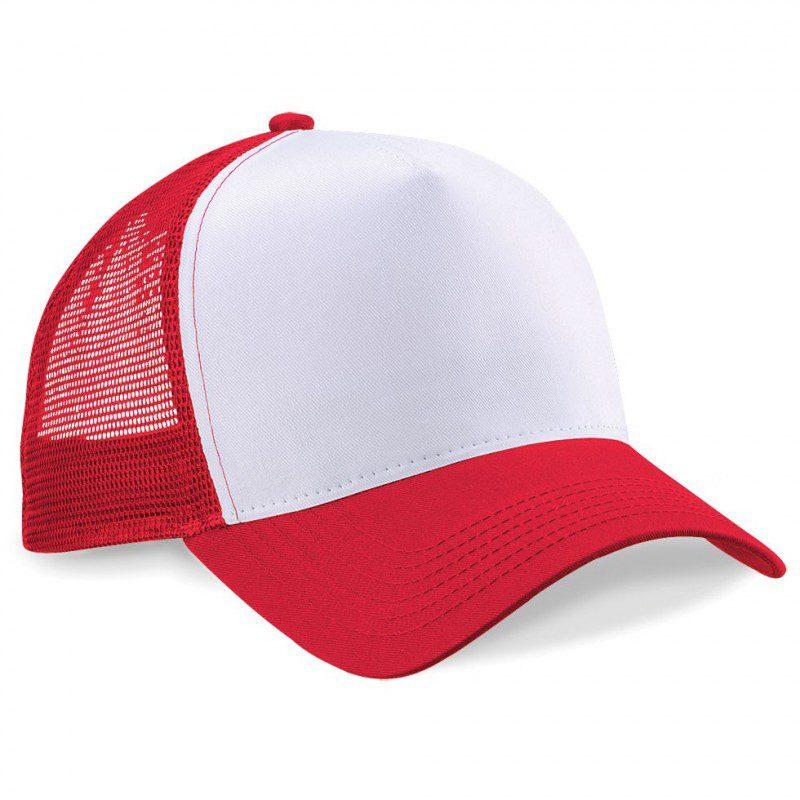 Gorra de malla para sublimación de color blanco colormake jpg 800x800 Malla  azul gorras blancas 1712973056f